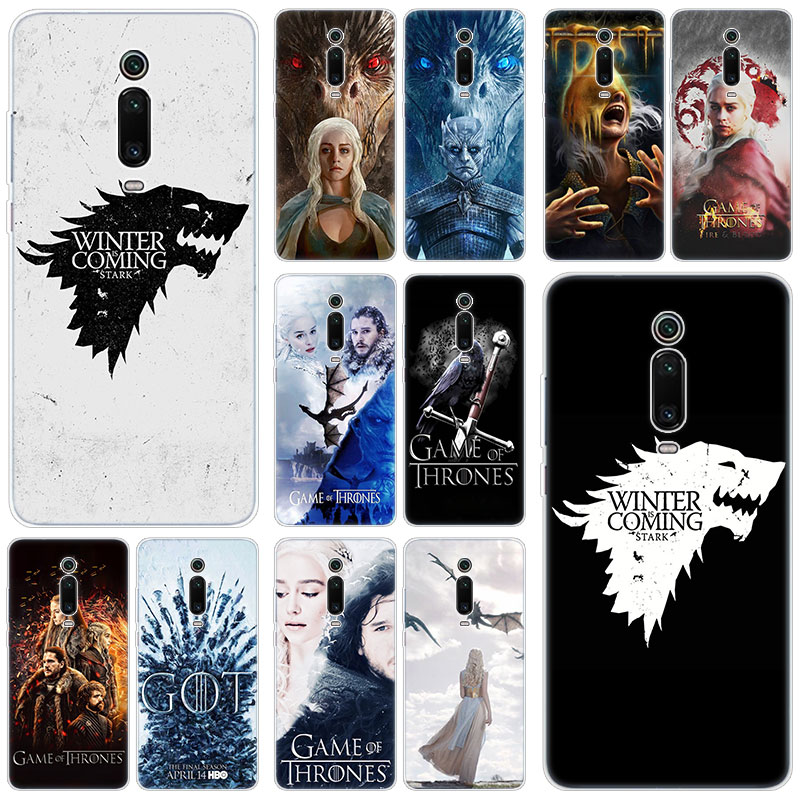 Hot game of Throne conquest Silicone Case For Xiaomi Mi Note 10 9T CC9 E 9 Pro A3 Lite Play Redmi Note 8T 8 8A 6 Pro 6A 4X Cover image