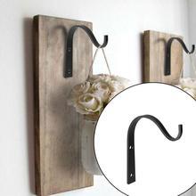 2 uds. Con 4 ganchos de Metal de tornillo j-hook gancho de pared Vintage ganchos de tornillo para cuarto de baño cocina tela toallero sostenedor del sombrero