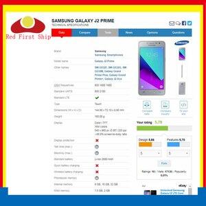 Image 2 - 10 adet/grup G532 dokunmatik ekran için Samsung Galaxy J2 başbakan G532 SM G532 dokunmatik ekran Digitizer paneli sensörü ön cam dış Lens