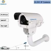 1080P IMX327 H.265 IP Star light Camera WDR Onvif POE 6 22mm For Gateway Parking License Plate number Recording AR IP8801SDP