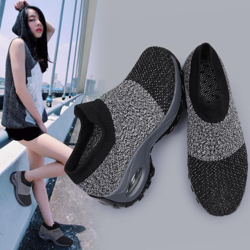 Женские кроссовки с нескользящей подошвой Размеры 35 40