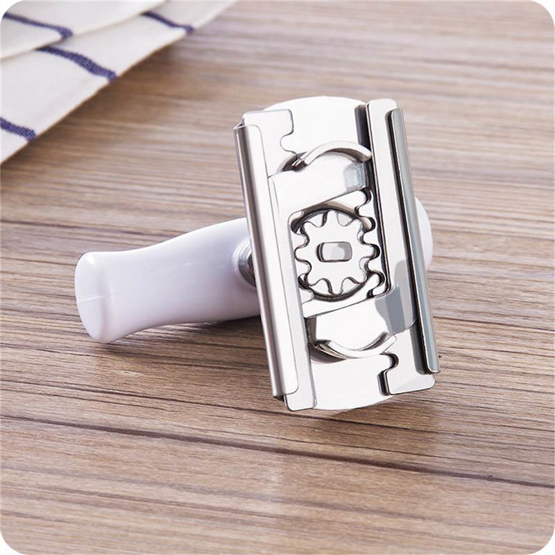 Mini Adjustable Bottle Cap Opener Kitchen Screw Cap Bottle Wrench Free Size Stainless Steel Can Tin Openers Kitchen Accessories