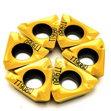 цена на Lathe tool milling cutter 3PKT150508R TT9080 external turning tool carbide insert 3pkt 150508r tungsten carbide turning insert