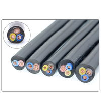 10M 0.75 1.5 2.5 Square 3 Core RVV Audio PVC cable Pure copper signal wire electrical cables