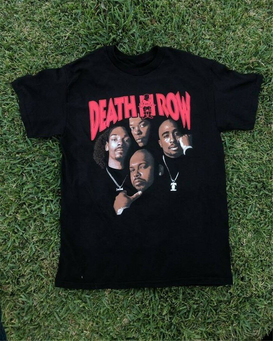DEATH ROW RECORDS T Shirt Streetwear Funny Tee Shirt