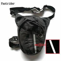 2018 Motorcycle Funny Drop Belt Pouch Fanny Pack Waist bag Belt Packs Nylon Waist Packs Leg Bag Waterproof Waistpack Wholesale