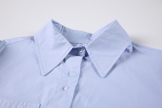 Nomikuma Japanese Puff Sleeve Women Shirt Causal Turn-down Collar Tie Blouse Top 2021 Spring New Causal Blusas Mujer 6E761 5