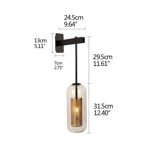 lampada de parede para cozinha sala estar