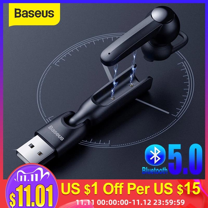 Baseus Wireless 5 0 Earphone Magnetic Charging Bluetooth Earphone with Mic Handsfree Headset Driving Earbuds Earphone for Phone