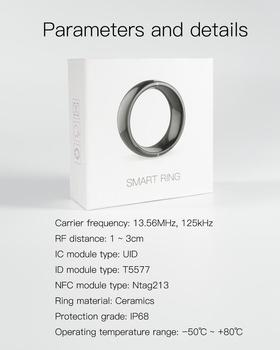 Jakcom R4 Smart Ring for NFC IOS Android WP Mobile phones smart wearable device Multifunction Magic Ring for Woman Men