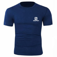S de impressão T-Shirt Dos Homens Nova Marca 100% Algodão O XS-XXL Pescoço Camisa Dos Homens Cor Pura Manga Curta Homem Camisetas