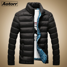 Winter Jacket Men 2019 Fashion Stand Collar Male Parka Jacket Mens Solid Thick Jackets and Coats Man Winter Parkas Plus Size 6XL stand collar plus size 3d flower and leopard print jacket