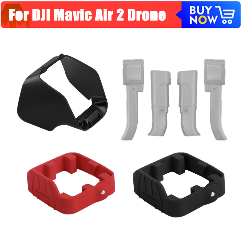 Drone Propeller Holder Guard Lens Hood Lens Sunshade Landing Gear DJI Mavic Air 2 Protective kit for DJI Mavic Air 2 Accessoreis