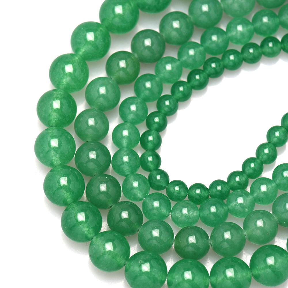 Loose Beads Green Gemstone Nugget Beads Pebble Nugget Beads Size 8mm-10mm #38 Green Aventurine Beads