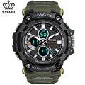SMAEL, мужские часы, военные, водонепроницаемые, повседневные, спортивные, светодиодный, электронные, наручные часы для мужчин, Relogio Masculino, двой...