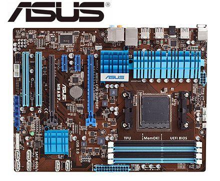 ASUS M5A97 Original Mainboard Socket AM3+ DDR3 32GB USB2.0 USB3.0 SATA3 970 Used Desktop Motherboard