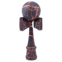 Полный Crackle деревянный шар Kendama образование традиционная игра игрушка