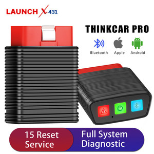 [US UK CZ Ship] Original Launch ThinkCar Pro OBD2 Full System Diagnostic Scanner 15 Reset Services PK AP200 / Thinkdiag Mini