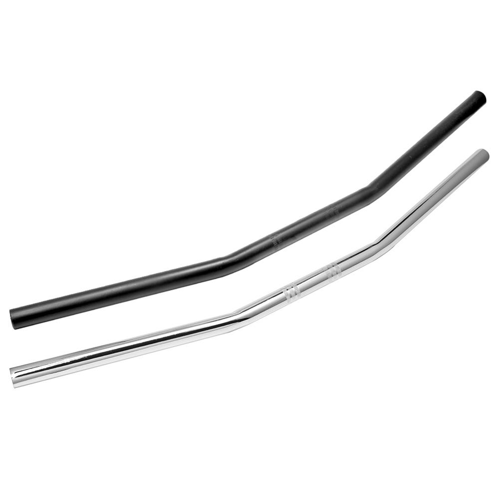 Motorcycle Cafe Racer Handlebar 7 8inch 22mm Black Chrome Drag Straight Bar For Honda Kawasaki Yamaha Suzuki Harley Chopper Bobber