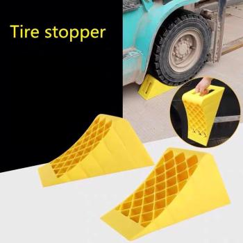Portable Lightweight Plastic Curb Ramps - Heavy Duty Plastic Threshold Ramp Kit Set For Driveway, Loading Dock, Sidewalk, Car image