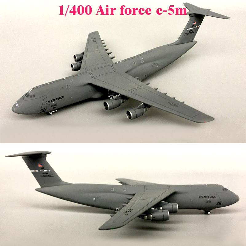 Fine  1/400  Air Force C-5m Strategic Transport Model 50010  Alloy Collection Model