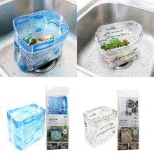 25 шт., мешок для мусора для раковины, креативное отверстие для слива, мультяшный одноразовый мешок для слива мусора, кухонный мусорное хранение, мешок для мусора, контейнер# L5