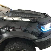 Side Motorkap Lights Daylight Running Lights Voor Ford Ranger 2012-2020 Xl, Xlt, wildtrak 2012 2013 2015 2014 2016 2017 2018 2019