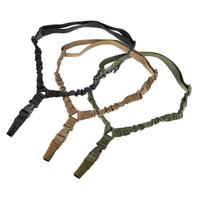 Tactical Single Point Rifle Sling Shoulder Strap Nylon Adjustable Airsoft Paintball Military Gun Strap Army Hunting Accessories 2