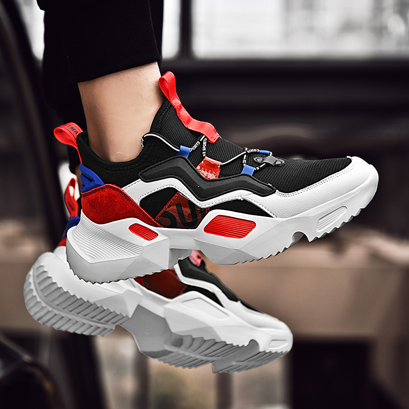 Casual Sneakers Men Fashion Shoes For Men Trainers Male Luxury Brand Fashion Walking Sport Shoes Men Krasovki Chaussure Homme