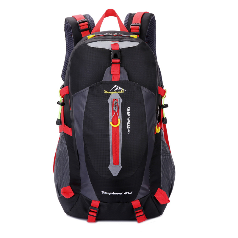 Fashion Mountaineering Bag Shoulder Men And Women Large-Volume Hiking Anti-Spillage Hiking Travel Outdoor Backpack 40L Upgraded