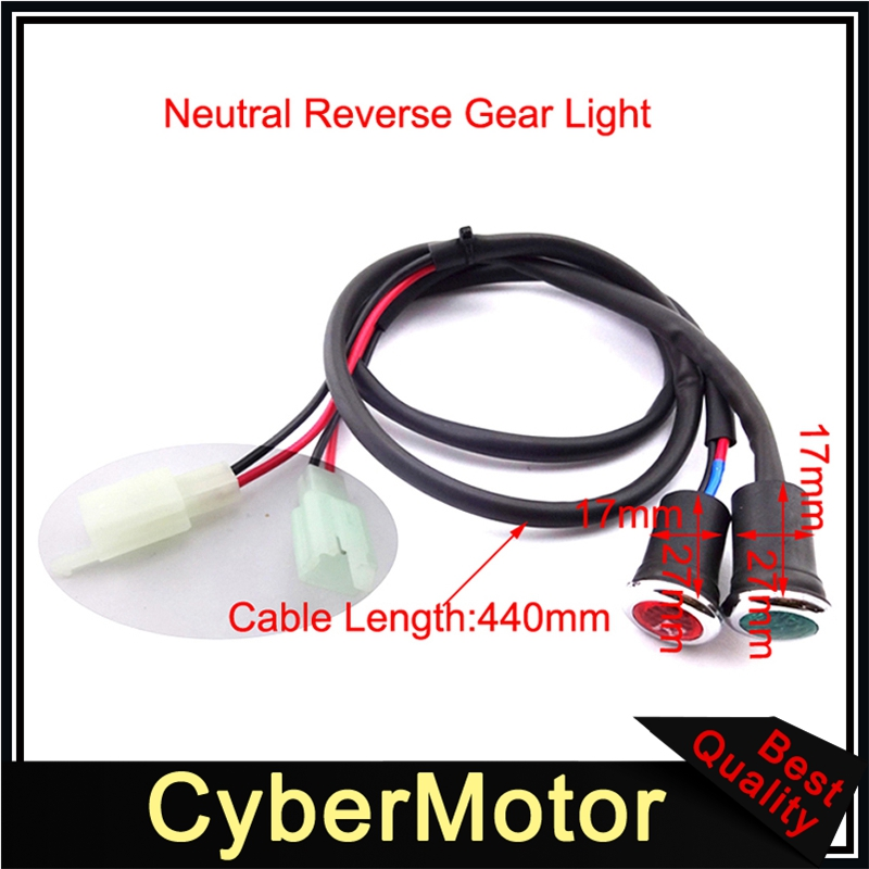 Neutral <font><b>Reverse</b></font> Gear Light Indicator For 50cc 70cc 90cc 110cc 125cc 150cc 200cc <font><b>250cc</b></font> <font><b>Engine</b></font> Chinese ATV Quad image