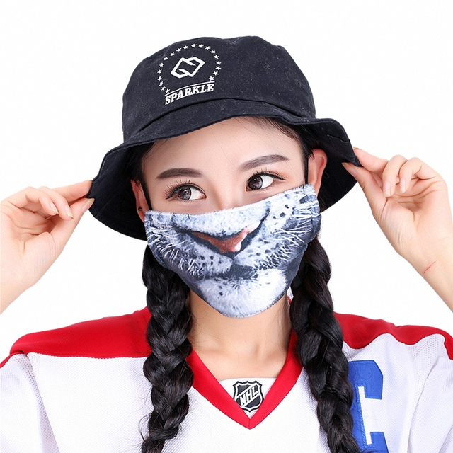 Kawaii Mouth Mask Kpop Cute Face Mouth Mask Dust Masks Fashion Anime Cotton Masks Mascarillas Protective Mask 3