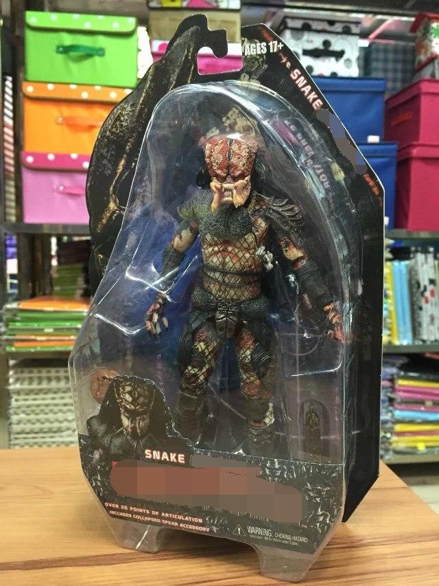"NECA Guardian Snake Stalker Alien VS Predator PVC Action Figure Collectible Model Toy 7"" 18cm KT2142 1"