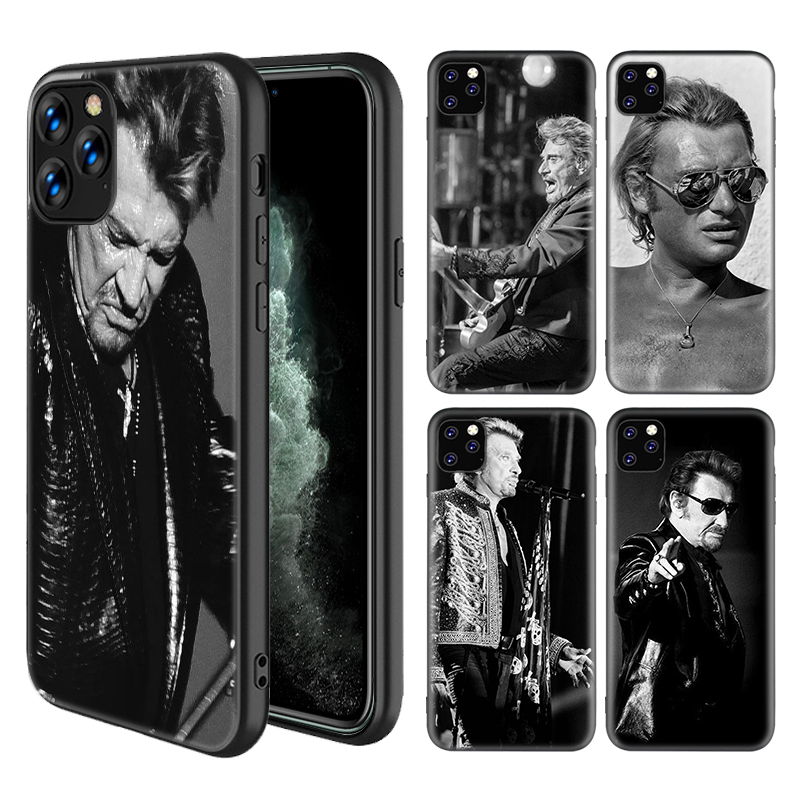 Coque iPhone 5C Johnny Halllyday Star Rock Produits Handmade ...
