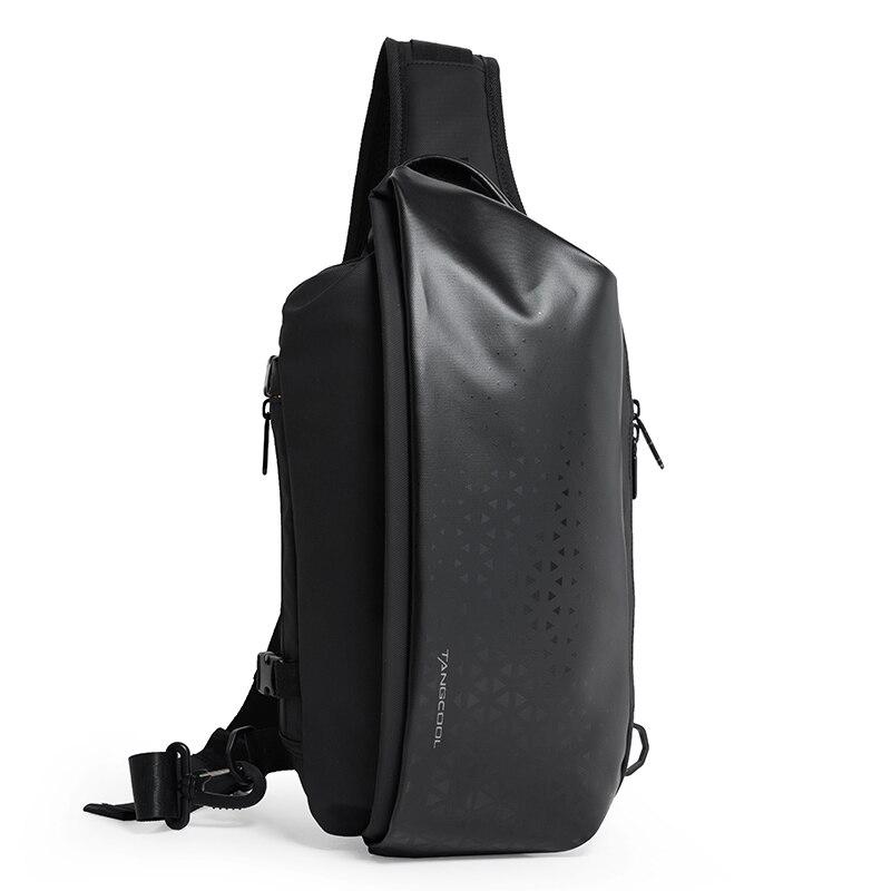 Tangcool pacote de peito masculino casual crossbody sacos masculino bolsa de ombro oxford mensageiro saco à prova dlarge água grande capacidade 20