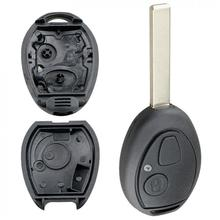 2 Buttons Remote Car Key Shell Replacement fit for MG BMW-Mini Cooper R53 R50 S Land Rover 75 Z3 Z4 X3 X5 e46 e39 e36 e34