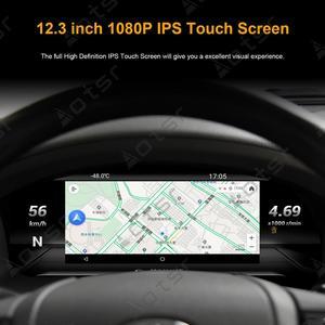 Android 9 для Toyota Land Cruiser LC200 2012-2019, полный ЖК-дисплей, приборная панель в сборе, автомобильная навигация, мультимедийный плеер