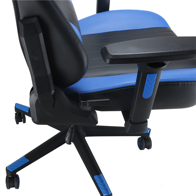 Gaming Chair Executive Office Chair Reclining High-Back Ergonomic PU Leather Desk Chair Racing Swivel Computer
