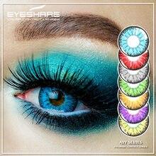 EYESHARE – lentilles de Contact colorées de la série AYY, 1 paire, pour Halloween, Cosplay, pour les yeux