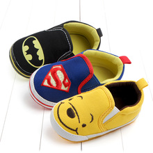 Hot sale Cartoon Character style Toddlers Baby Canvas shoes