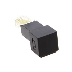 Image 3 - רב זווית RJ45 חתול 5e זכר לנקבה Lan Ethernet רשת הארכת מתאם למעלה/למטה/ימינה/שמאל בזווית Whosale & Dropship