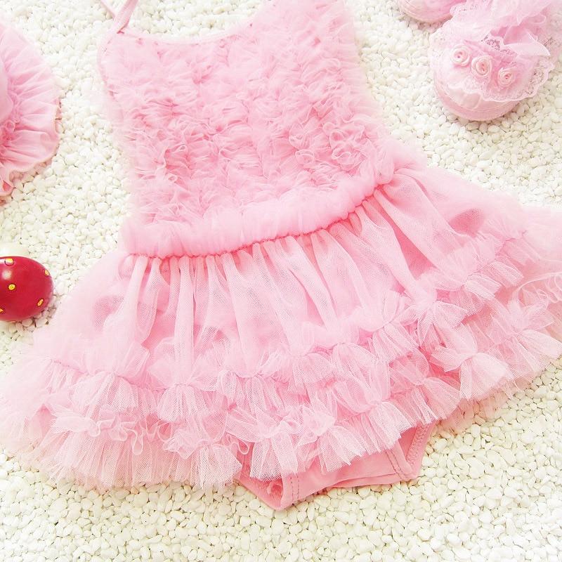 New Style Lace South Korea KID'S Swimwear Cute Girls Small Treasure Swimwear Infants Medium-small Princess Dress-One-piece