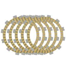 Motorcycle 5pcs Bakelite or Paper-based Clutch Friction Plates For Hyosung GA125 GF125 GT125 GV125 RT125 XRX125 XRX125 GA GT 125