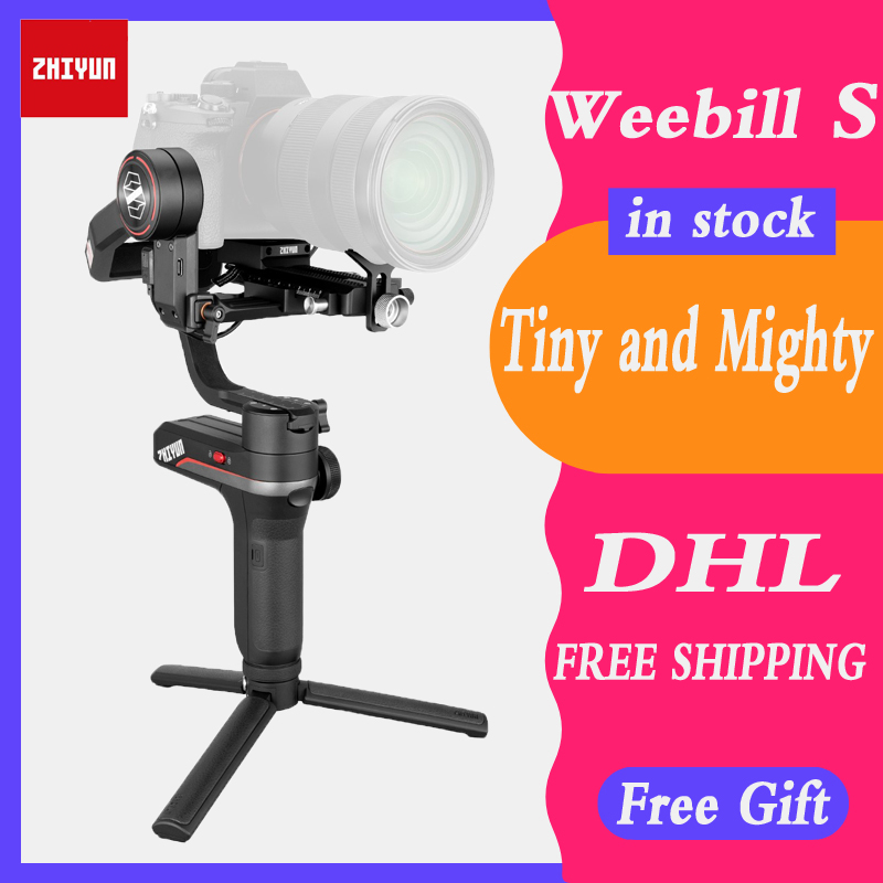 Zhiyun WEEBILL LAB,WEEBILL S 3-Axis Stabilizer For Sony Panasonic GH5s Mirrorless Camera Handheld Gimbal With Focus Control