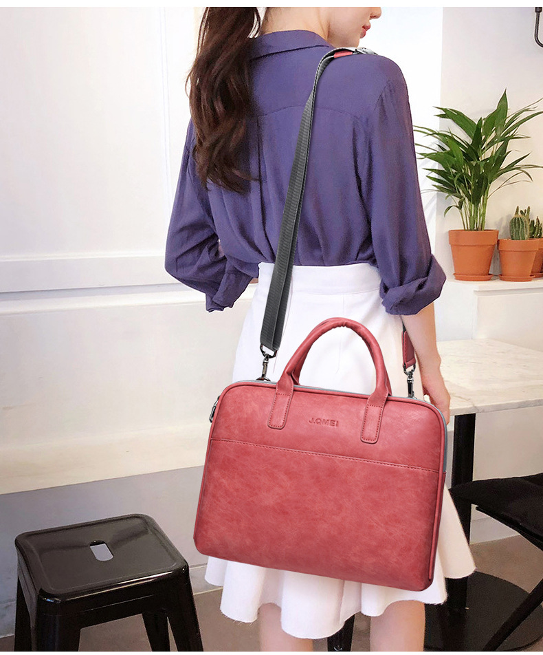 Hb5231ae3746a47639190b5768fefc02bB - Women's Shoulder Briefcase | Large Bag Capacity