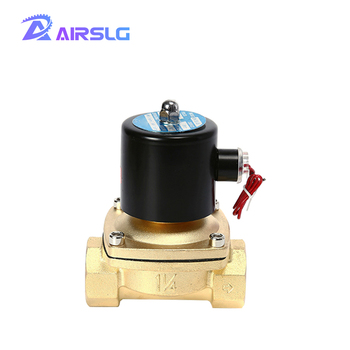 Normally closed solenoid valve water valve AC 220V 110V DC 12V 24V, G3/8 G1/2 G3/4 G1 G1-1/4 G1-1/2 valve solenoid coil ebowan electric brass 12v dc solar hot water solenoid valve 1 2 normally closed ac 220v dc 24v