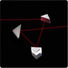 Оптическое стекло k9 прямоугольный треугольный Призма 5*5*5