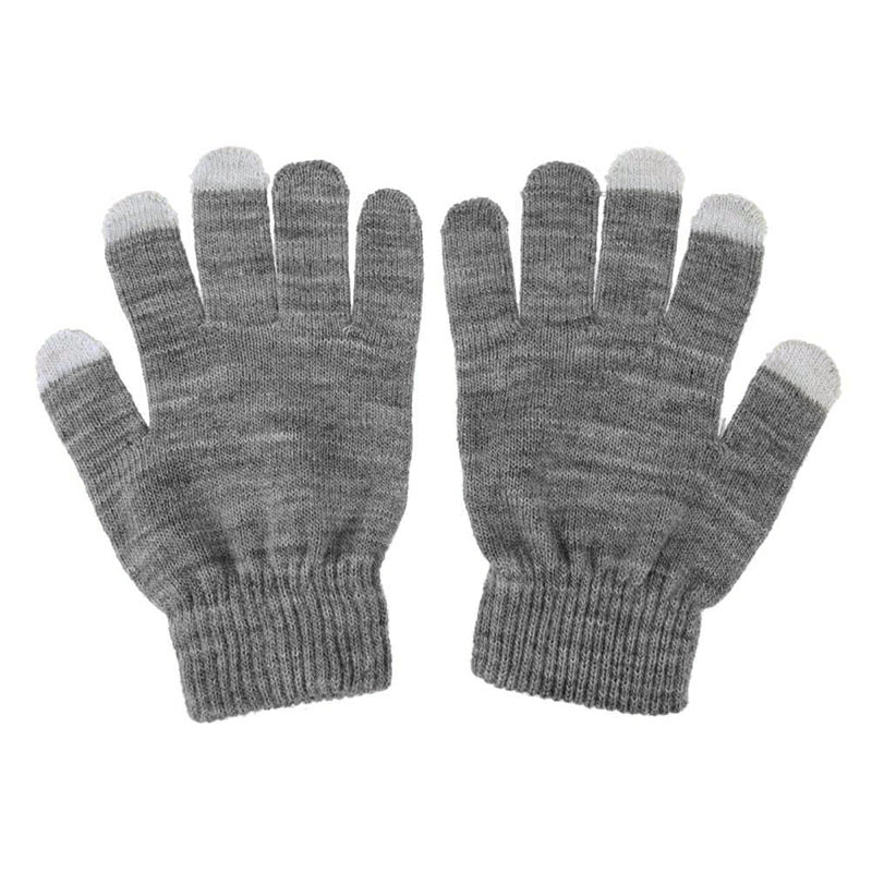 1 Pair Unisex Winter Warm Capacitive Knit Gloves Hand Warmer For Touches Screen Smart Phone  FEA889