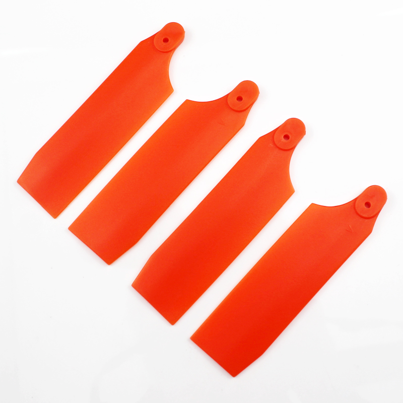 2Pairs Tarot helicopter <font><b>parts</b></font> 111mm Tail Rotor Blade for Trex <font><b>700</b></font> RC Helicopter image