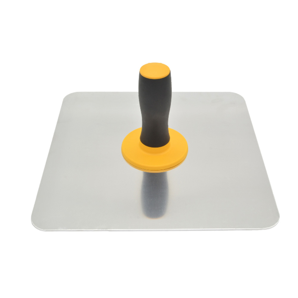 Lightweight Mortar Board Home Trowel Aluminium Holder With Handle Finishing Craftsman Paint Professional Plastering Tool